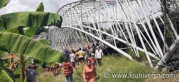 Colapsó estructura de puente en Colimes, un tráiler atrapado - El Universo