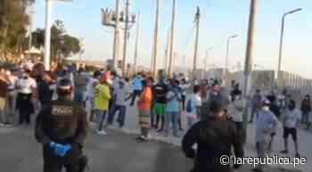 Pobladores de Paracas expulsan a 300 trabajadores que llegaron de Lima por temor a la COVID-19 - LaRepública.pe