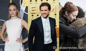 Emmy award-2019: Sophie Turner and Kit Harington are re-creating - unintentionally - exciting scene of Sansa and Jon in the audience of the awards ceremony, Come to watch! - Matzav Review