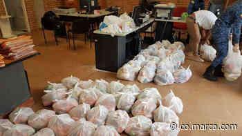 Presos de Acacías donan su comida para la población más vulnerable del municipio - Marca Claro Colombia