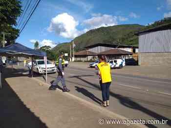 Santa Teresa instala barreiras sanitárias para controlar acesso de turistas - A Gazeta ES