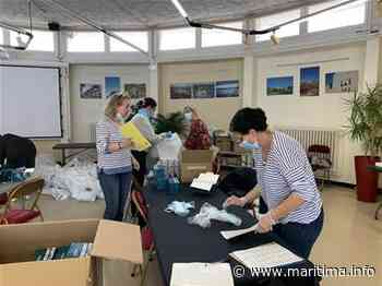 Miramas - Coronavirus - Miramas : une distribution de kits sanitaires pour les commerçants - Maritima.info