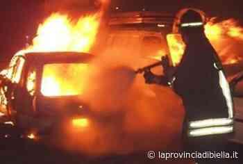 Auto distrutta dalle fiamme a Gaglianico - La Provincia di Biella