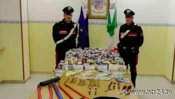 Cerreto Sannita, furto in un tabacchi: ladri abbandonano auto e refurtiva dopo inseguimento - NTR24