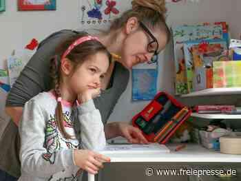 Beim Homeschooling nicht zu viel wollen - Freie Presse