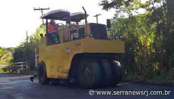 Acidente de trabalho mata funcionário na obra da RJ-160, em Cantagalo - Serra News