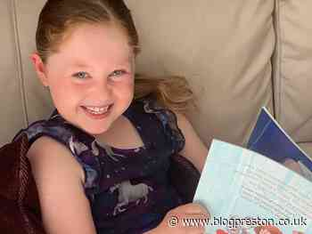Young Charlotte fundraising for Rosemere with 26 activities for the 2.6 Challenge - Blog Preston