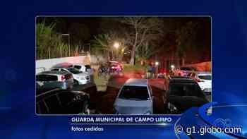 Guarda flagra festas em chácaras de Campo Limpo Paulista durante o isolamento social - G1