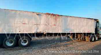 Lo detienen por fétidos olores en su tráiler en Tantoyuca - Vanguardia de Veracruz