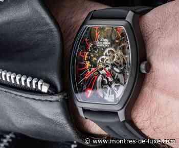 Claude Meylan : cette Tortue en sept couleurs avec le sept heure à l'honneur - Montres-de-luxe.com