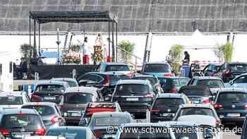 Stetten am kalten Markt: Gottesdienst im Auto - Schwarzwälder Bote
