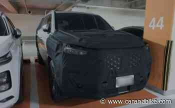 SsangYong Rexton (Alturas G4) Facelift Spotted Testing In South Korea - CarandBike