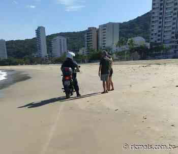 Prefeitura de Matinhos pede que não viaje ao Litoral; surfista foi multado - RIC Mais