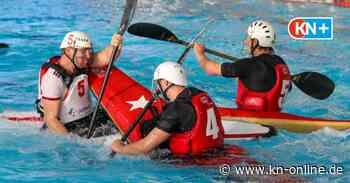 Kieler Indoor-Cup - Kanu-Polo: Wasserschlacht im Sportforum - Kieler Nachrichten