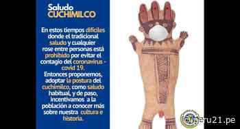 Huaral: Proponen que peruanos hagan el 'saludo cuchimilco' para impedir contagios por COVID-19 - Diario Perú21