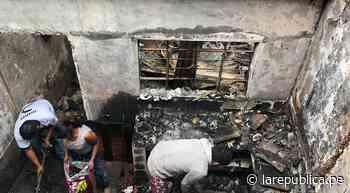 Cajamarca: incendio arrasó con vivienda en la ciudad de Cajabamba - LaRepública.pe