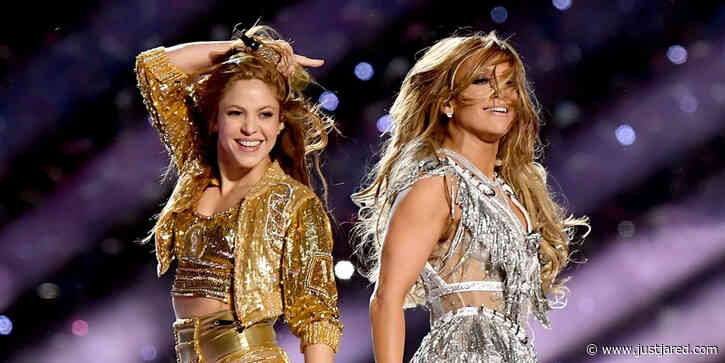 Jennifer Lopez Shows Shakira How to Jiggle Her Butt in Super Bowl Rehearsal Video