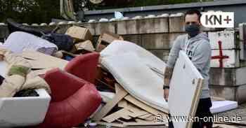 Altenholz - Auf dem Recyclinghof ist Geduld gefragt - Kieler Nachrichten