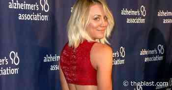 Kaley Cuoco Gobbles Blueberries In Tightest Yoga Pants Known To Man - The Blast