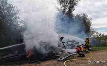 Feuer auf Aussiedlerhof bei Karlsbad - BNN - Badische Neueste Nachrichten
