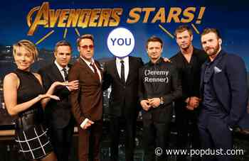 Win a Virtual Date With All Your Favorite Avengers—also, Jeremy Renner - Popdust