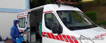 Prefeitura de Ipira faz desinfecção em unidades de saúde e em veículos de transporte de pacientes - Rádio Aliança 750khz
