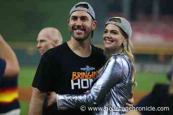 Astros' Justin Verlander, wife Kate Upton donate equipment to Detroit first responders - Houston Chronicle