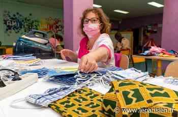 A Bourg-la-Reine, des couturières en herbe fabriquent des masques pour enfants - Le Parisien