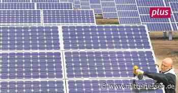 Sonnenkraftwerk im Gewerbepark zwischen Lohra und Mornshausen geplant - Mittelhessen