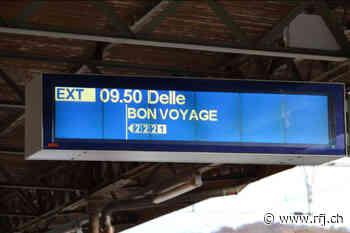 Retour à la normale sur la ligne Delle-Porrentruy - RFJ