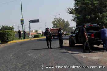 Movilidad vial en Sahuayo ha bajado en 50 por ciento por la cuarentena - La Voz de Michoacán
