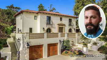 Video: Shia LaBeouf's New Pasadena Pad Is an Ode to 20th Century Mediterranean Style - Realtor.com News