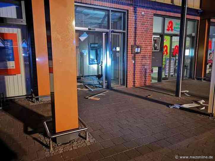 Attacken In Bunde, Verden Und Goslar: Geldautomaten gesprengt – Flüchtige rammen Polizeiauto - Nordwest-Zeitung