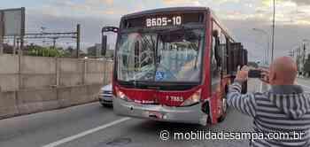 Colisão entre dois ônibus no corredor da Avenida Francisco Morato - Mobilidade Sampa