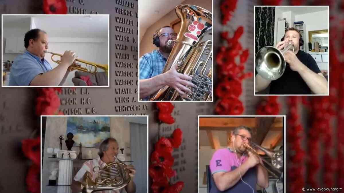 Le Quesnoy : des musiciens de l'harmonie confinés forment le Vauban Brass quintet - La Voix du Nord