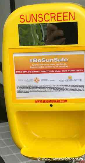 New Westminster taking a stand against skin cancer - The Record (New Westminster)