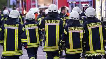 Hoher Sachschaden bei Brand einer Werkstatt in Tann - BR24