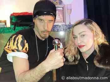 Madonna at Steven Klein's Birthday Party