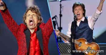 """""""Una banda toca en estadios, la otra ya no existe"""": Mick Jagger le responde a Paul McCartney - Sopitas.com"""