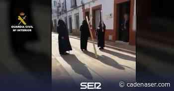 Denunciados seis vecinos de Peñaflor por organizar un simulacro de procesión - Cadena SER