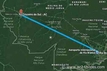 Voos de ida e volta de Rio Branco para Cruzeiro do Sul por apenas R$ 227,30 - ac24horas.com