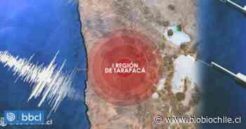 Sismo se registra en la región de Tarapacá - BioBioChile