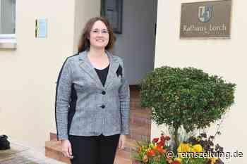 Den ersten Tag hat sich Marita Funk als Bürgermeisterin in Lorch anders... - Rems-Zeitung