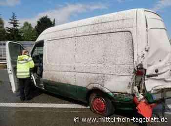 Elsdorf / Heidenau/ A1 - Unfall-Chaos: Hagel und Starkregen führen zu mehreren Unfällen - Mittelrhein Tageblatt
