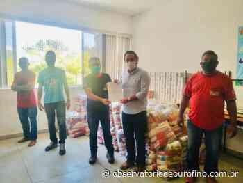Empresários doam cestas básicas para famílias carentes em Ouro Fino - Observatório de Ouro Fino