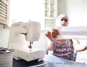 Artesãs do Cabo de Santo Agostinho produzem máscaras de tecido - Folha de Pernambuco