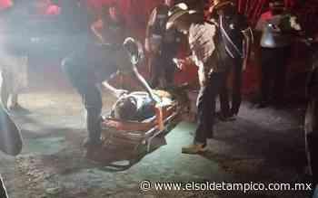 Residente de la Guadalupe Victoria se salvó morir en volcadura - El Sol de Tampico