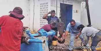 Dan mantenimiento a bomba de agua en Jojutla - Diario de Morelos