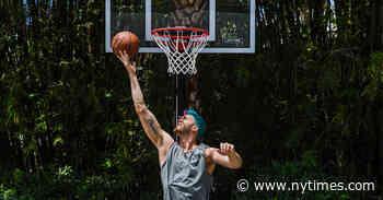 Many N.B.A. Stars Lack Home Court Advantage: Basketball Hoops