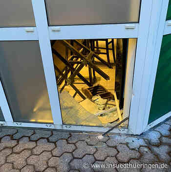 Einbruch in Tankstellen-Bistro in Suhl: Polizei sucht Zeugen - inSüdthüringen